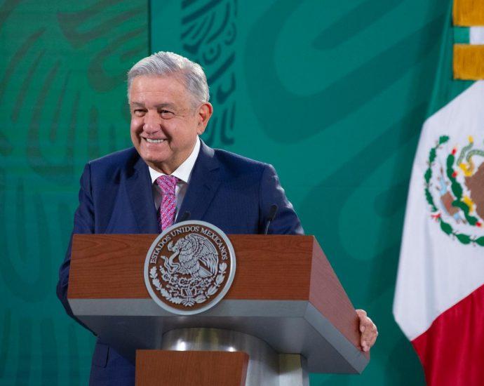 Lunes 8 de febrero de 2021. Presidente mexicano Andrés Manuel López Obrador. Foto por Gobierno de México.