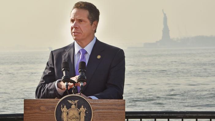 13 de diciembre de 2015. Ciudad de Nueva York - Gobernador del estado de Nueva York Governor Andrew M. Cuomo. (Kevin P. Coughlin/Office of the Governor)