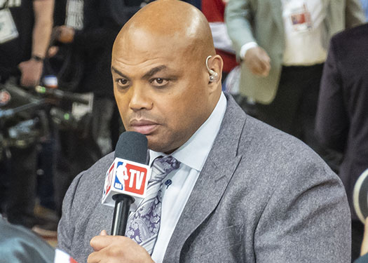Charles Barkley at 2019 NBA Finals. Photo by Chensiyuan / Wikipedia.org