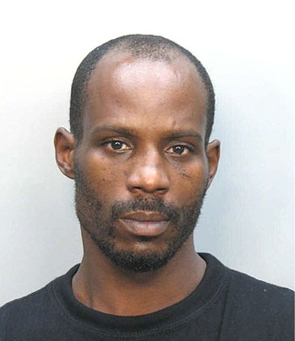 A 2008 mug shot of American rapper DMX.  Photo by Miami Police Department / Wikipedia.org